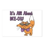 It's All About Me Cat Postcards (Package of 8)