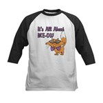 It's All About Me Cat Kids Baseball Jersey
