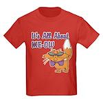 It's All About Me Cat Kids Dark T-Shirt