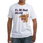 It's All About Me Cat Fitted T-Shirt