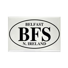 Belfast, Northern Ireland Rectangle Magnet (10 pac