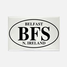 Belfast, Northern Ireland Rectangle Magnet (10 pac