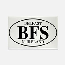 Belfast, Northern Ireland Rectangle Magnet
