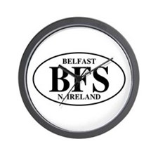 Belfast, Northern Ireland Wall Clock