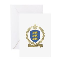 LAPOINTE Family Crest Greeting Card