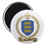 LAPOINTE Family Crest Magnet