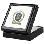 LAPOINTE Family Crest Keepsake Box