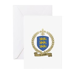 LAPOINTE Family Crest Greeting Cards (Pk of 10)