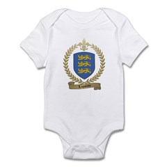 LAPOINTE Family Crest Infant Bodysuit