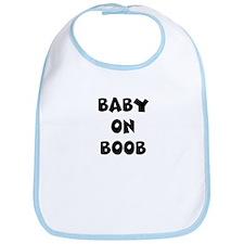 Baby on Boob Bib