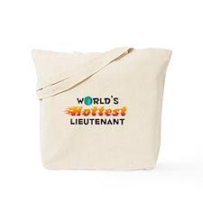 World's Hottest Lieut.. (C) Tote Bag
