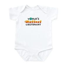 World's Hottest Lieut.. (C) Infant Bodysuit