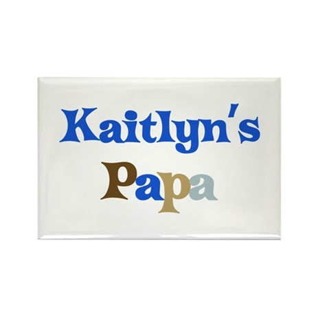 Kaitlyn's Papa Rectangle Magnet (10 pack)
