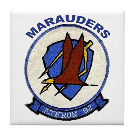 VFA 82 Marauders Tile Coaster