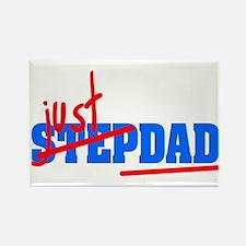 StepDad - Just Dad! Rectangle Magnet