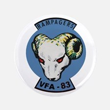 """VFA 83 Rampagers 3.5"""" Button"""