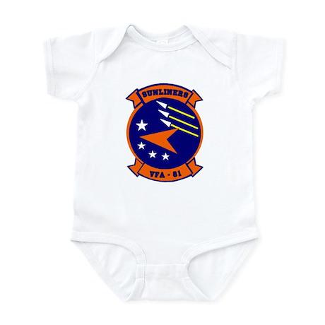 VFA 81 Sunliners Infant Bodysuit