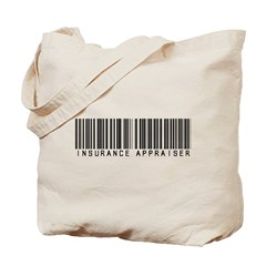Insurance Appraiser Barcode Tote Bag