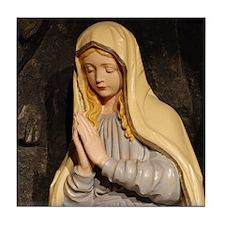 Mary Statue Tile Coaster