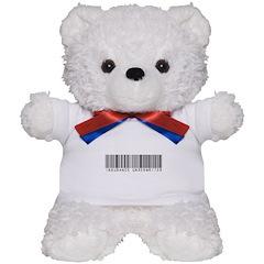 Insurance Underwriter Barcode Teddy Bear