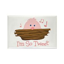 So Tweet Baby Rectangle Magnet