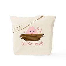 So Tweet Baby Tote Bag