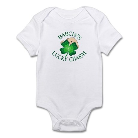 Babcia's Lucky Charm Infant Bodysuit