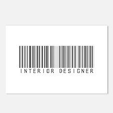 Interior Designer Barcode Postcards (Package of 8)