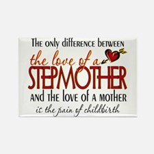 Love of a Stepmother Rectangle Magnet