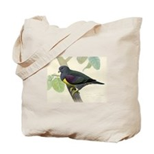 Bruces Green Pigeon Tote Bag