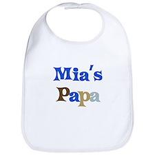 Mia's Papa Bib