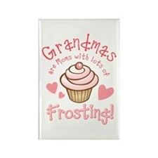 Grandmas Frosting Rectangle Magnet
