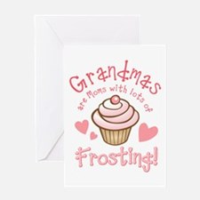 Grandmas Frosting Greeting Card