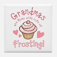 Grandmas Frosting Tile Coaster