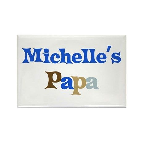 Michelle's Papa Rectangle Magnet (10 pack)