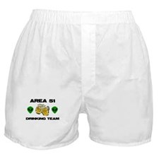 Area 51 Drinking Team Boxer Shorts