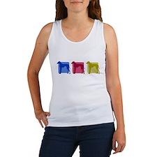 Color Row Azawakh Women's Tank Top