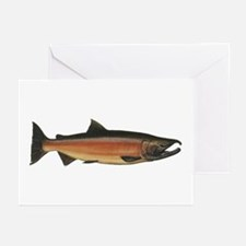 Coho Salmon Greeting Cards (Pk of 20)