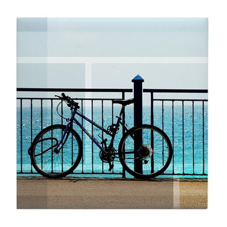 Sea Light Tile Coaster