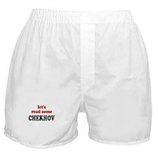 Let's Read Chekhov Boxer Shorts