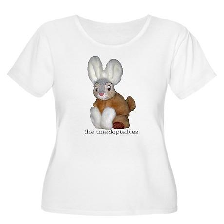 Unadoptables 9 Women's Plus Size Scoop Neck T-Shir
