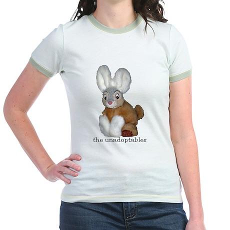 Unadoptables 9 Jr. Ringer T-Shirt
