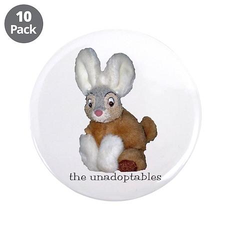 "Unadoptables 9 3.5"" Button (10 pack)"