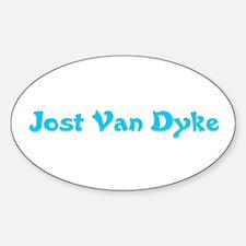 Jost Van Dyke Oval Decal