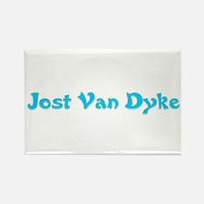 Jost Van Dyke Rectangle Magnet