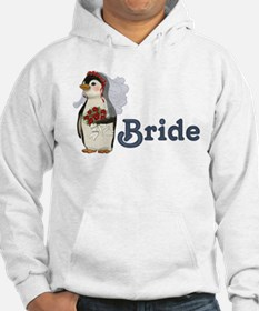 Penguin Wedding - Bride Hoodie