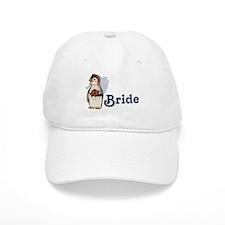 Penguin Wedding - Bride Baseball Cap