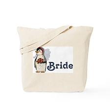 Penguin Wedding - Bride Tote Bag