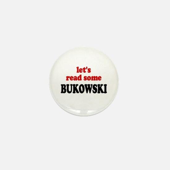 Let's Read Bukowski Mini Button