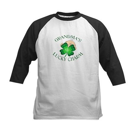 Grandma's Lucky Charm Kids Baseball Jersey